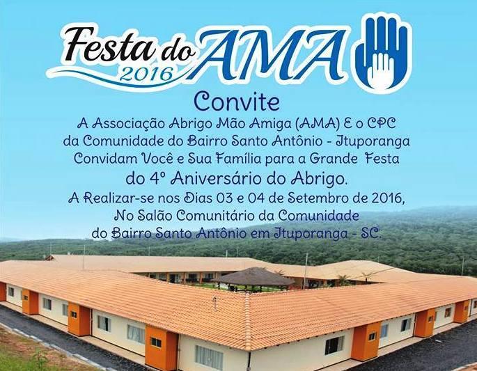 Abrigo Mão Amiga promove almoço festivo em comemoração aos quatro anos de funcionamento da entidade