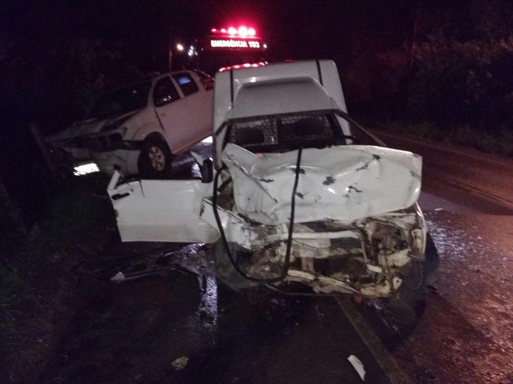 Acidente na SC-350 deixa pai e filho gravemente feridos em Ituporanga