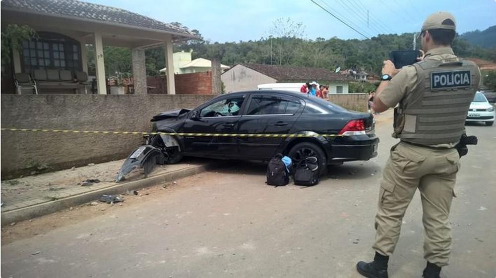 Adolescente atropelado por colega de 16 anos em Rio do Sul diz que carro estava em alta velocidade