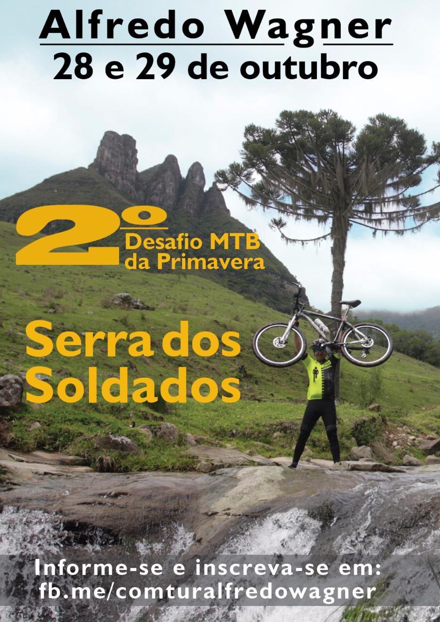 Alfredo Wagner sedia o 2º Desafio Montain Bike de Primavera