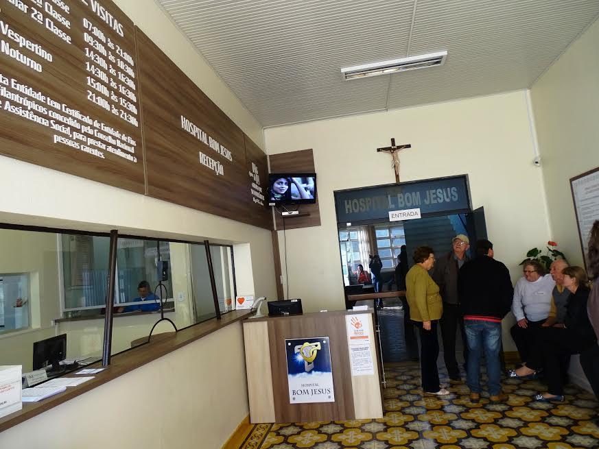 Alterado horário de visitação a pacientes da UTI do Hospital Bom Jesus