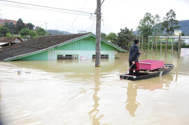 Alto Vale busca opções para recuperar estragos causados pelas enchentes de outubro