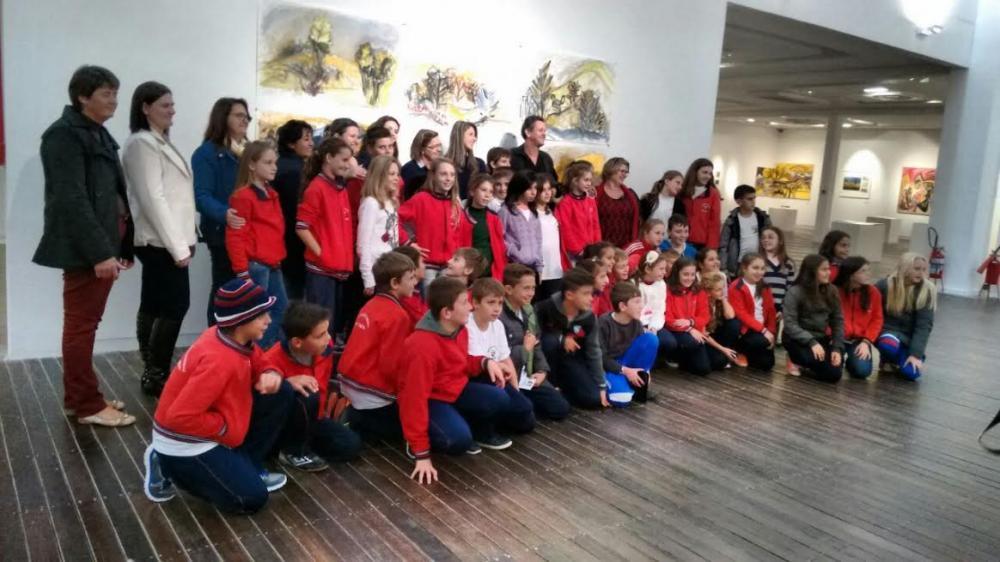 Alunos de Petrolândia visitam Museu de Arte de Santa Catarina