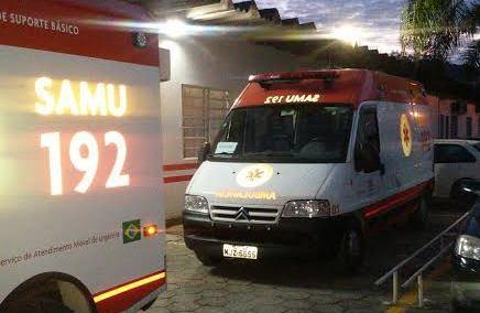 Ambulância do Samu retorna à Ituporanga
