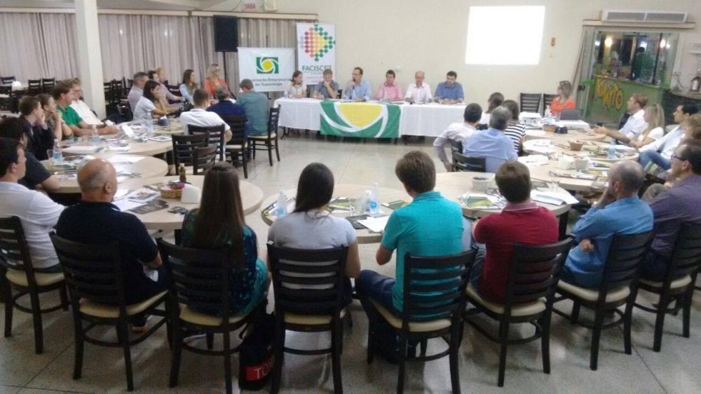Assembleia Geral da Facisc é realizada em Ituporanga
