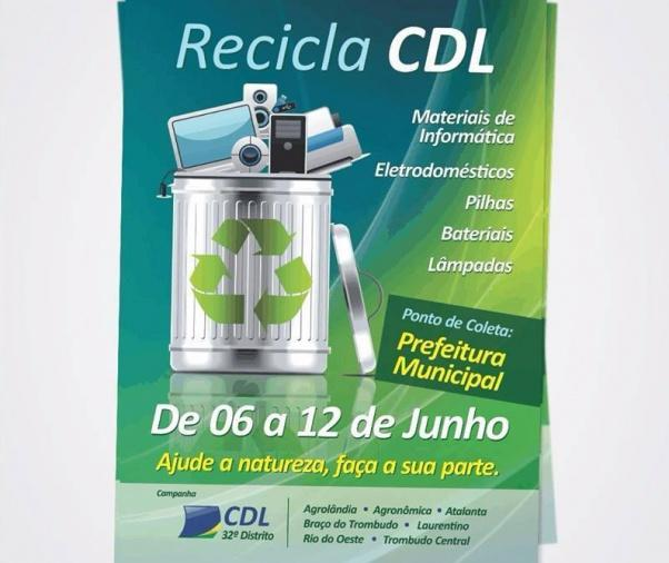 Atalanta realiza campanha de coleta de resíduos eletrônicos