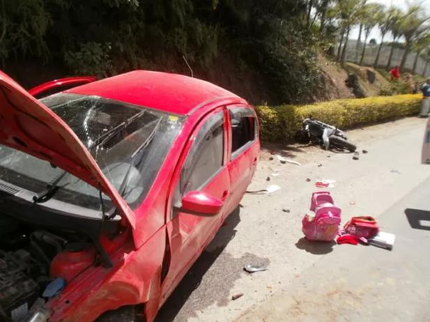 Atualizando: Mãe, duas crianças e motociclista morrem após batida em Laurentino
