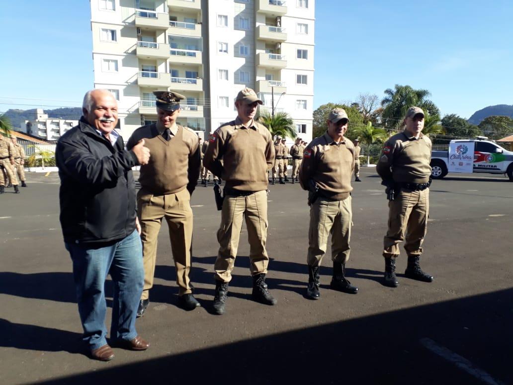 Batalhão da Polícia Militar de Rio do Sul comemora  24 anos de trabalhos aqui na Região do Alto Vale