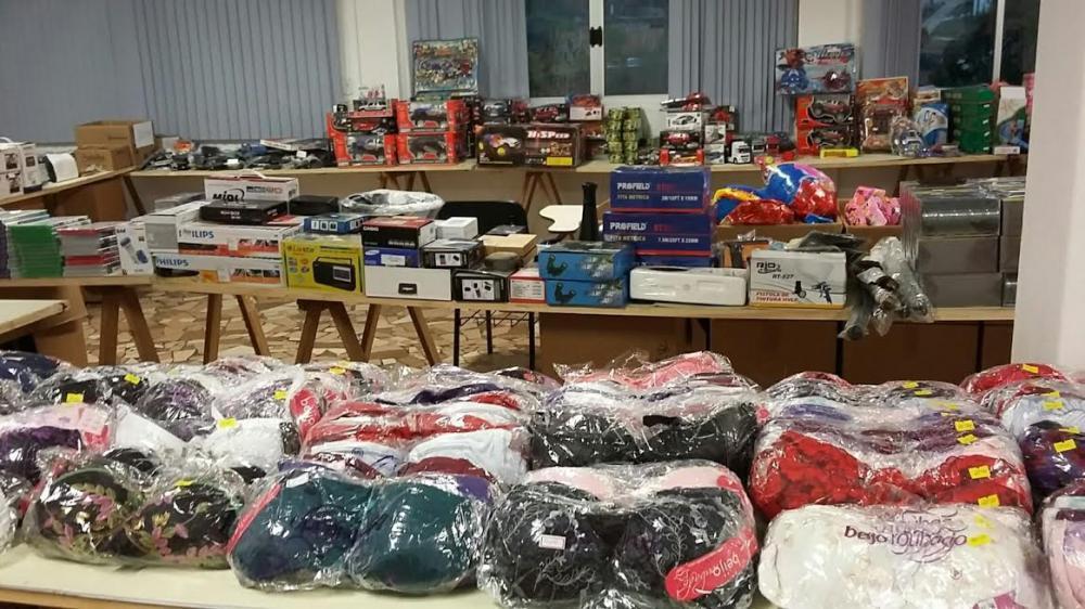 Bazar do Hospital Bom Jesus com mercadorias apreendidas pela Receita Federal inicia nesta sexta