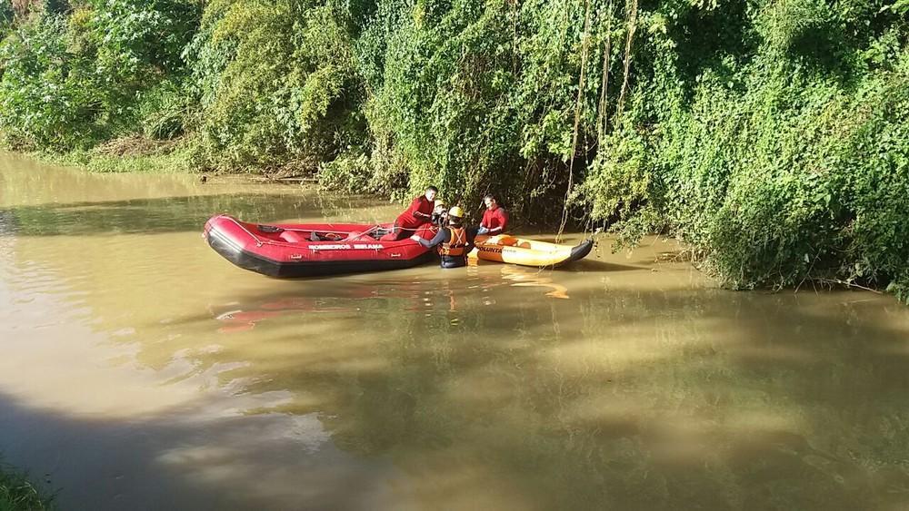 Bombeiros encontram corpo de idoso em rio de Presidente Getúlio
