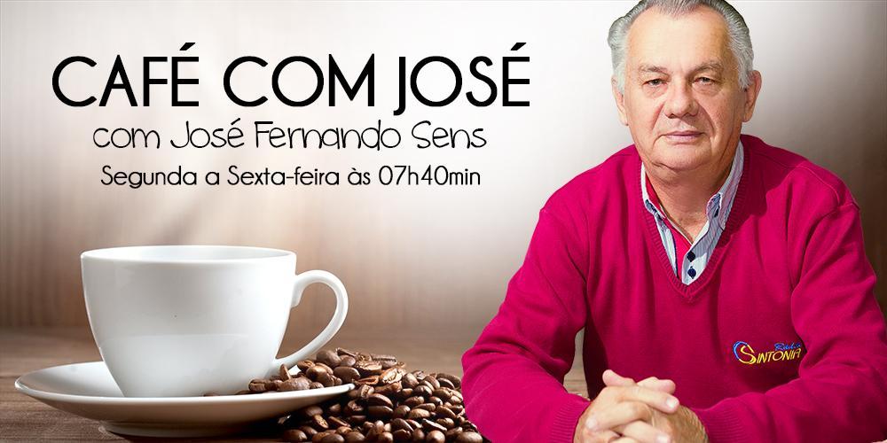 Café com José: Coligação política é igual casamento