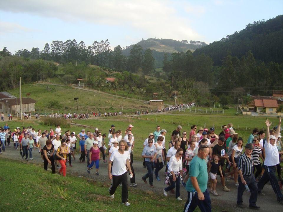 Caminhada Eco Musical reúne cerca de 600 pessoas em Vidal Ramos