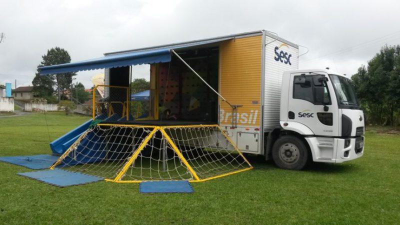 Caminhão do SESC está em Atalanta