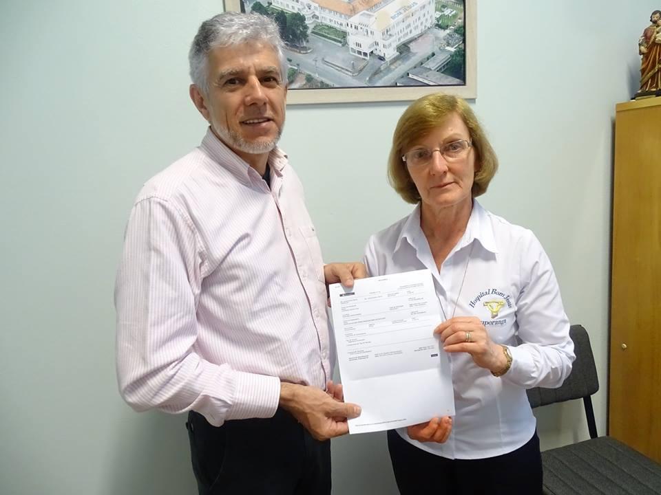 Campanha Abastecimento Solidário arrecada cerca R$ 4 mil para o Hospital Bom Jesus