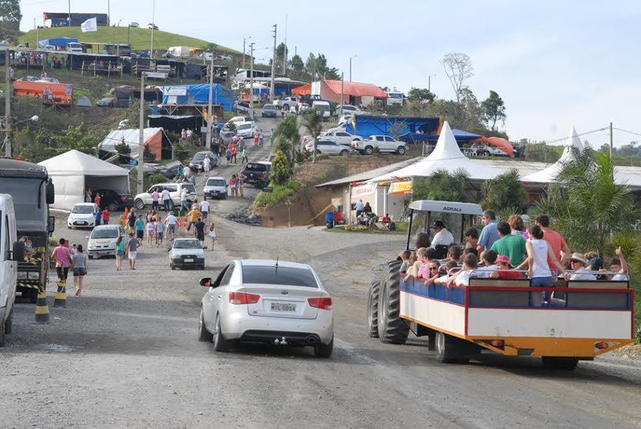Camping é opção para curtir a Doce Festa em Vidal Ramos