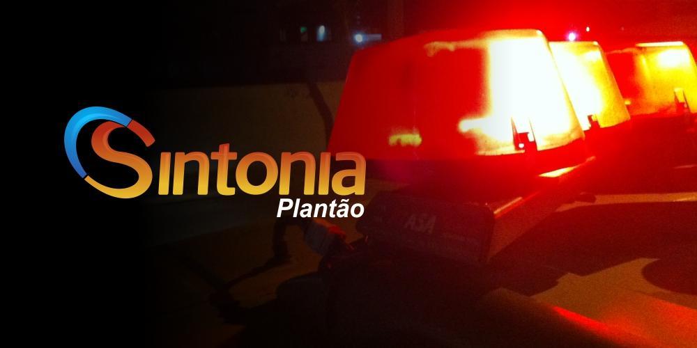 Carro capota e condutor fica preso nas ferragens em Ituporanga