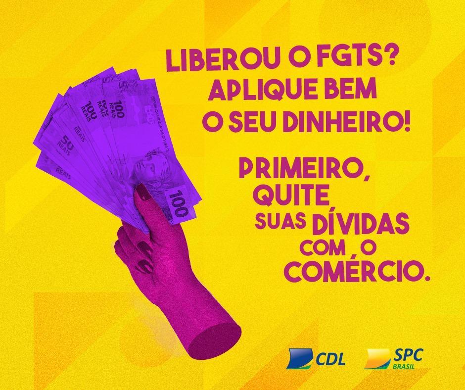 CDL de Ituporanga orienta clientes para utilizar FGTS para quitar dívidas no comercio local
