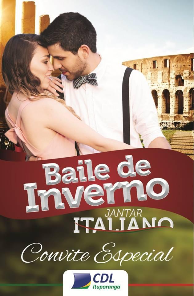 CDL de Ituporanga promove Baile de Inverno com jantar italiano