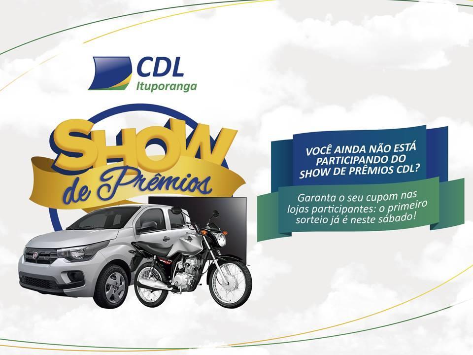 CDL de Ituporanga promove nova edição do Show de Prêmios