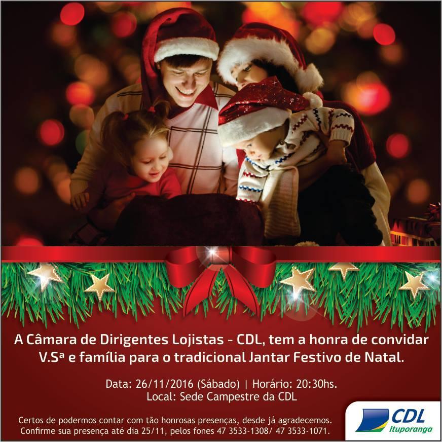 CDL de Ituporanga realiza almoço de encerramento das atividades
