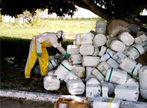 Cerca de 70 mil embalagens de agrotóxicos foram  recolhidas nessa semana em Bom Retiro e Alfredo Wagner