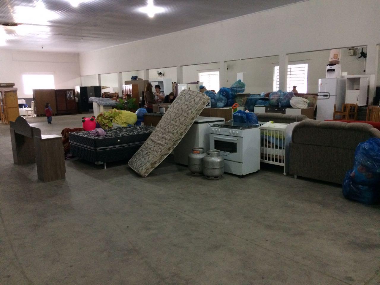 Chuvas deixam 17 famílias desabrigadas em Ituporanga