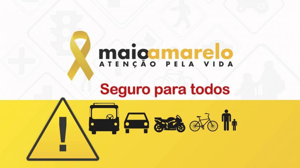 """Com ações voltadas a prevenção de acidentes, Ituporanga adere ao movimento """"Maio Amarelo"""""""
