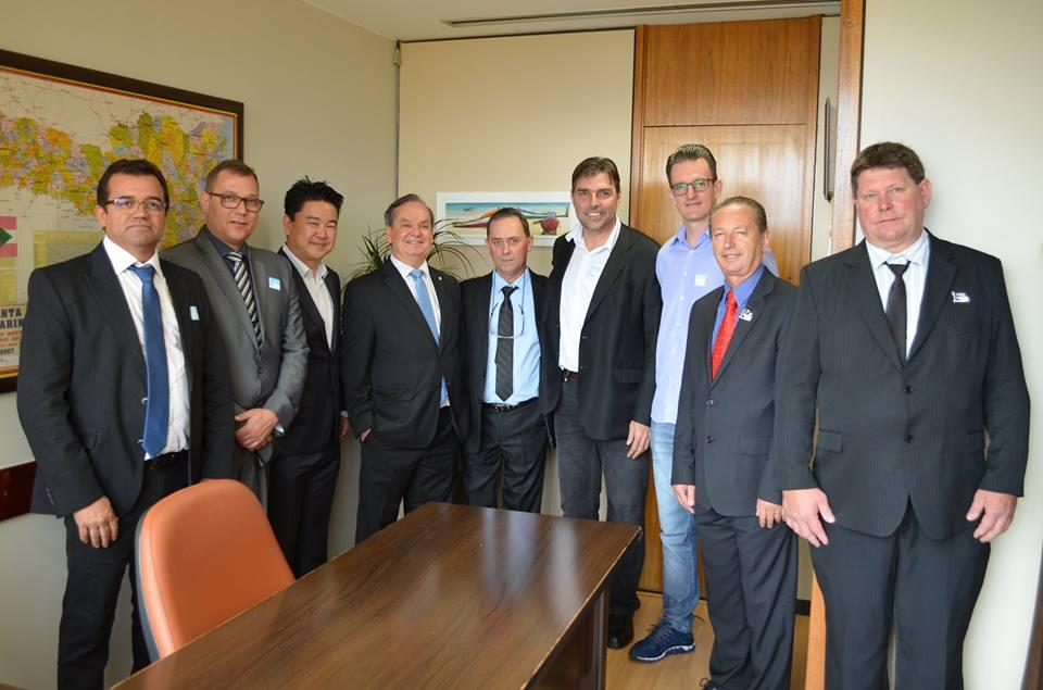 Comitiva encerra reuniões em Brasília com perspectivas positivas de que a cebola deve integrar a lista LETEC
