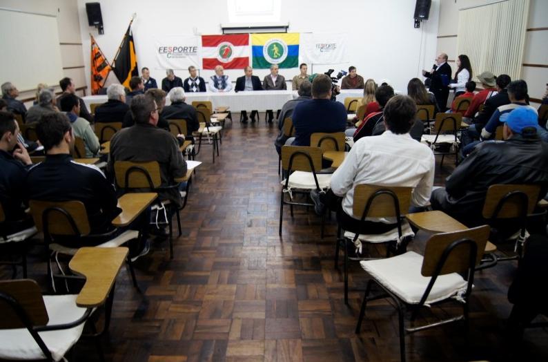 Congresso técnico da Liga Riosulense é na segunda-feira (6)