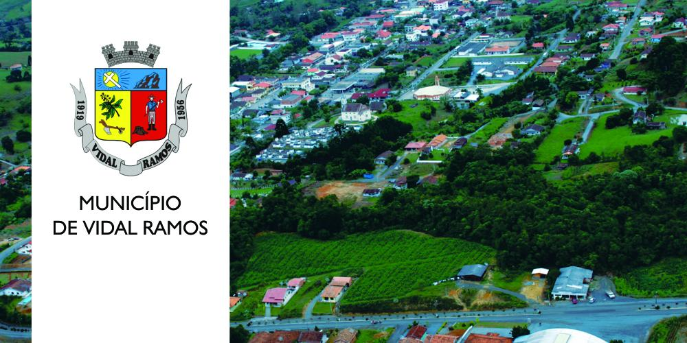 Convênios para Prefeitura de Vidal Ramos geram investimentos de R$ 770 mil