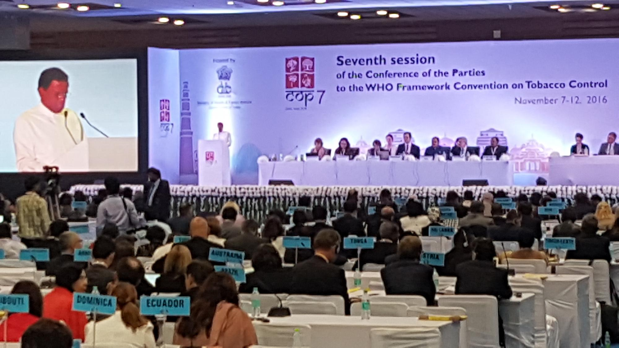 COP7 realizada na Índia traz avanços para os produtores de tabaco brasileiros