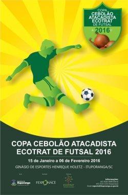 Copa Cebolão 2016 está com inscrições abertas