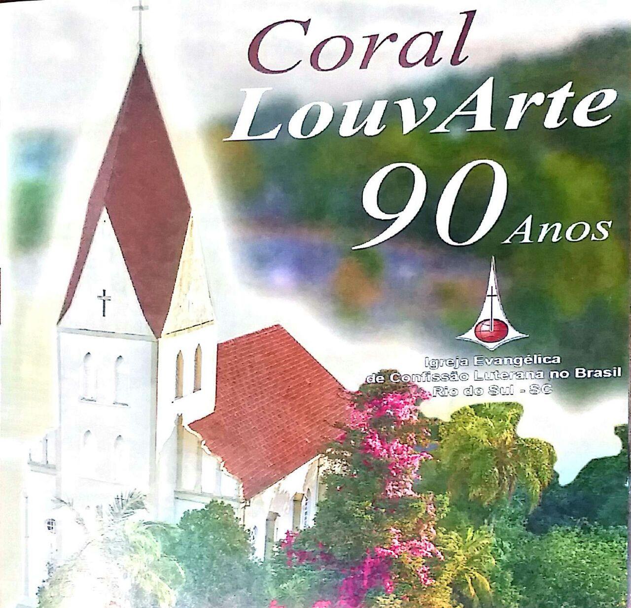 Coral LouvArte de Rio do Sul lança CD comemorativo aos 90 anos de história
