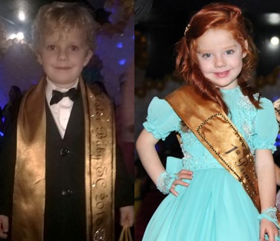 Crianças da Região da Cebola são destaque no concurso Miss e Mister Santa Catarina Infantil