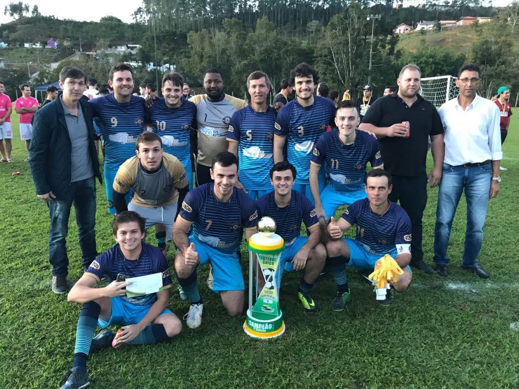 Definidos os campeões do municipal de Futebol Suíço em Petrolândia