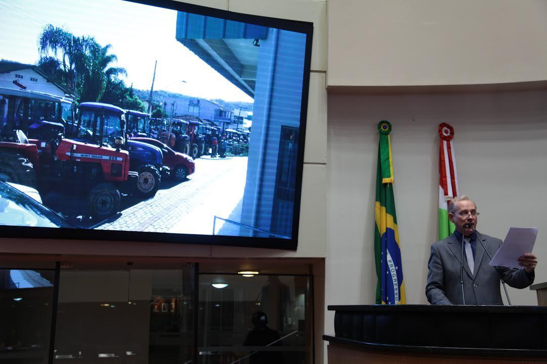 Deputado Aldo Schneider usa a tribuna da Assembleia para falar do preço da comercialização da cebola em Santa Catarina