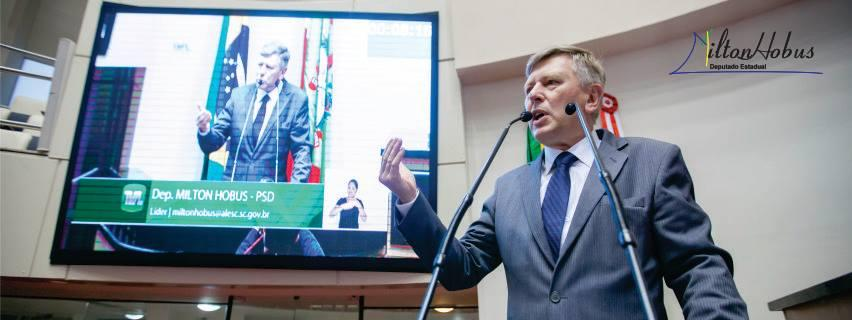 Deputado Milton Hobus (PSD) desmente possibilidade de ser candidato ao governo do estado em 2018