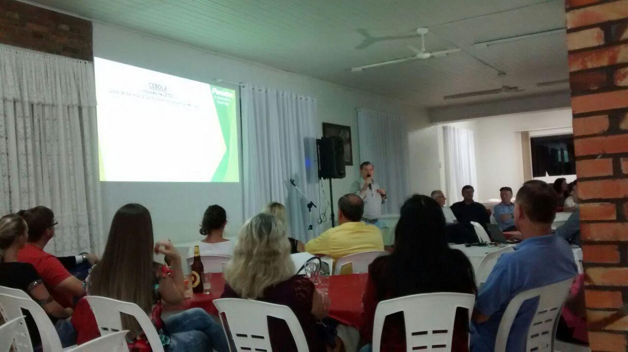 Deputado Peninha faz prestação de contas para a população de Ituporanga