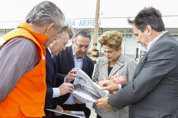 Dilma Rousseff cancela visita a Rio do Sul por questão de segurança