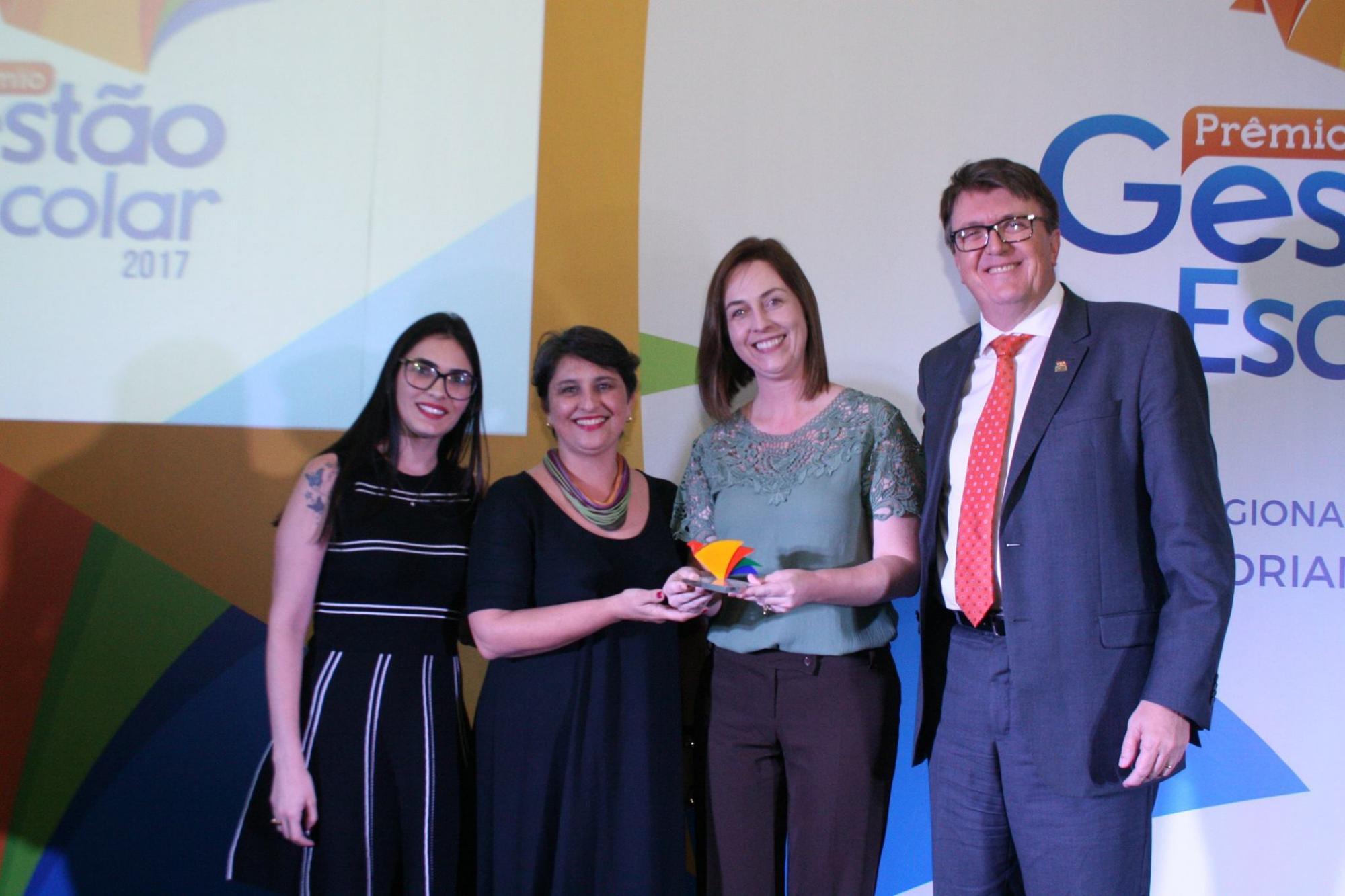 EEF Mont Alverne vence regional Sul e representa Santa Catarina na final do Prêmio Gestão Escolar 2017