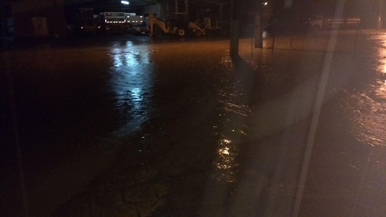 Em Chapadão do Lageado as estradas do interior foram as mais prejudicadas
