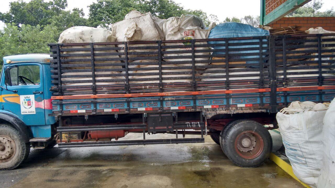 Embalagens de agrotóxicos são recolhidas em Vidal Ramos