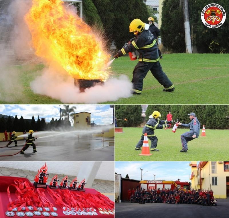 Encontro regional reúne bombeiros do Alto Vale do Itajaí em Rio do Sul