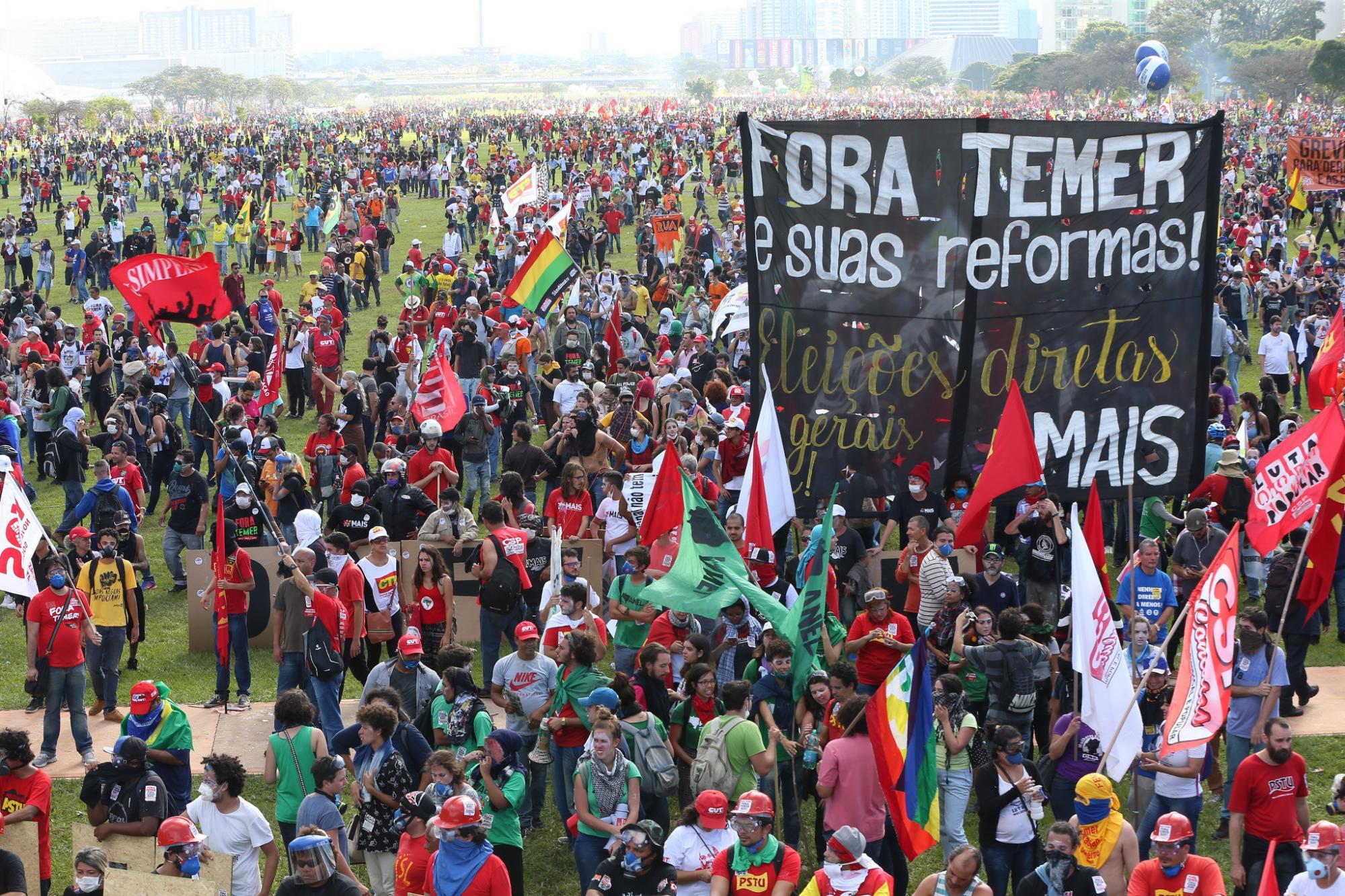 Entidades do Alto Vale organizam para protesto contra reformas propostas pelo governo Michel Temer