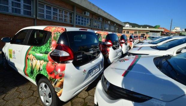 Epagri entrega 20 veículos para escritórios locais no Alto Vale