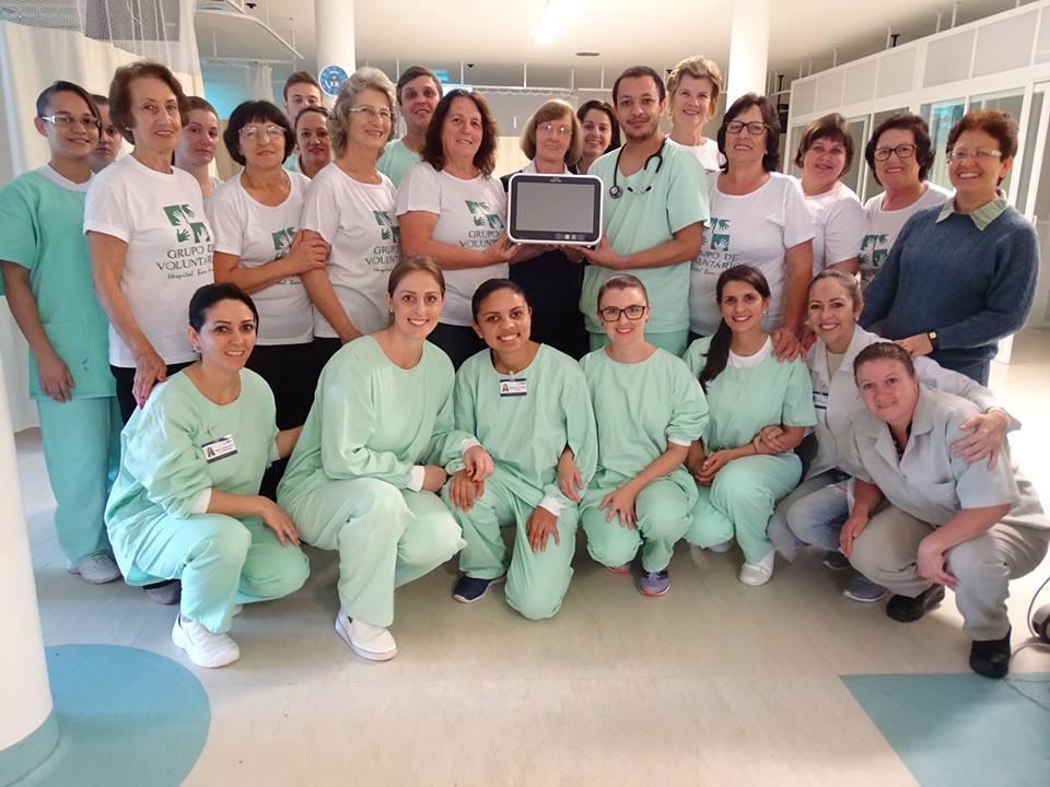 Equipamentos são entregues a UTI do Hospital Bom Jesus