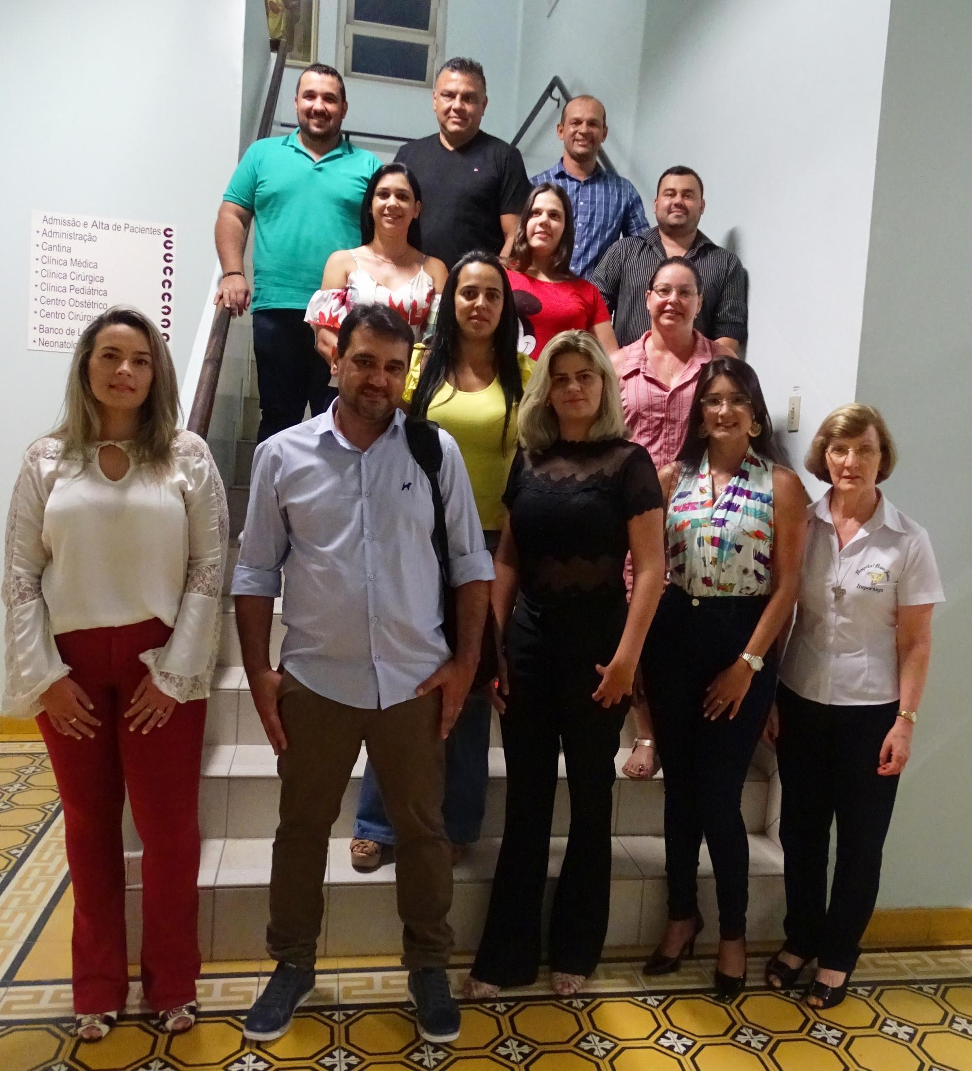 Estudantes de medicina da Universidade Sudamericana do Paraguai iniciam estágio no Hospital Bom Jesus.