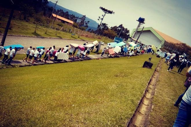 Estudantes ocupam campus do IFC em Rio do Sul  em protesto contra a PEC 241 e mudança no ensino médio