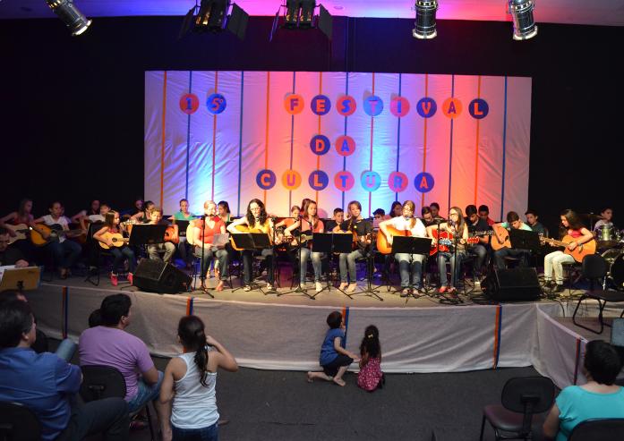 Festival Cultural evidencia músicos amadores e profissionais de Vidal Ramos