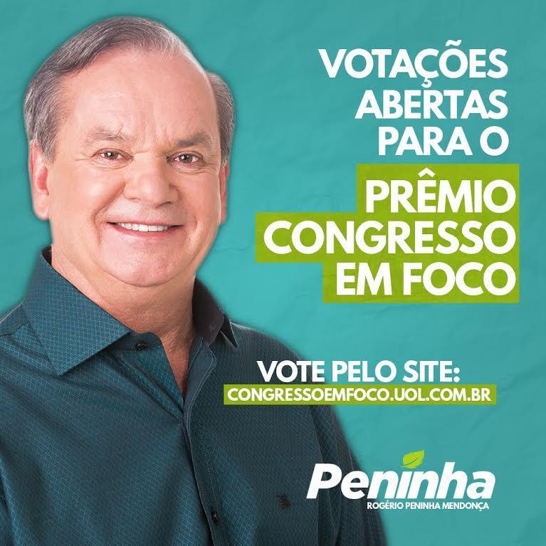 Ficha Limpa, Peninha é indicado ao Prêmio Congresso em Foco